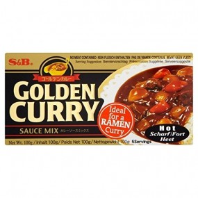 Curry Giapponese Piccante 220g S&B