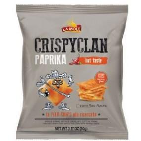 Patatine CrispyClan Paprika 90g LA MOLE
