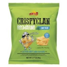Patatine CrispyClan Rosmarino LA MOLE