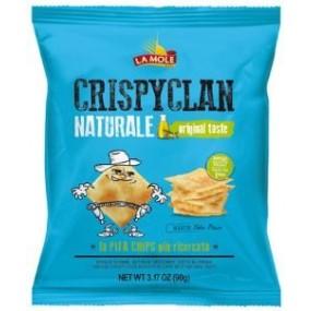 Patatine CrispyClan Naturale 90g LA MOLE