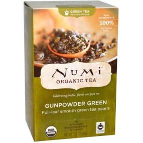 Tè Verde Puro Bio Gunpowder 18pz NUMI