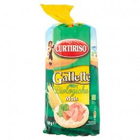 Gallette Biologiche Mais 130gr CURTIRISO