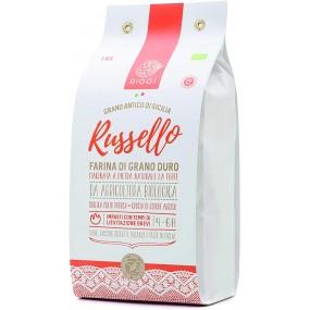 Farina di Grano Antico Siciliano Russello BIO 1kg RIGGI
