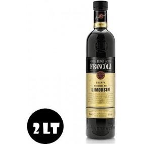 Grappa Barrique Limousin Piemonte Magnum 2lt FRANCOLI