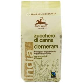Zucchero di Canna Demerara Bio 500g ALCE NERO