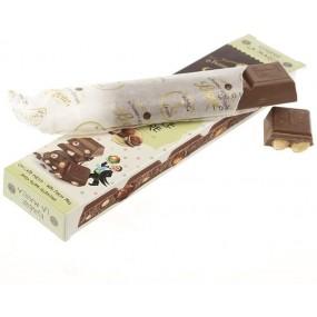 Barretta Cioccolato al Latte con Nocciole del Piemonte 55g PASTIGLIE LEONE