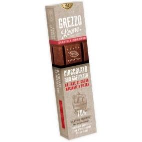 Barretta Cioccolato non Rasffinato e Cannella 55g PASTIGLIE LEONE
