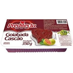Dolce di Guava Goiabada Cascao con Pezzi di frutta 350g PREDILECTA