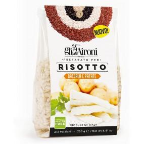 Preparato per Risotto Baccalà e Patate Gluten Free 250g GLI AIRONI