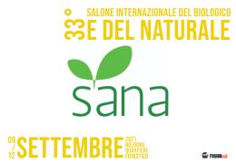 Sana 2021: la culla del biologico a Bologna