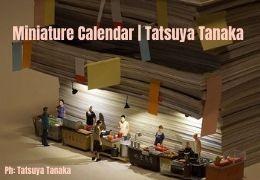 Art&Food. Tatsuya Tanaka | Miniature Calendar